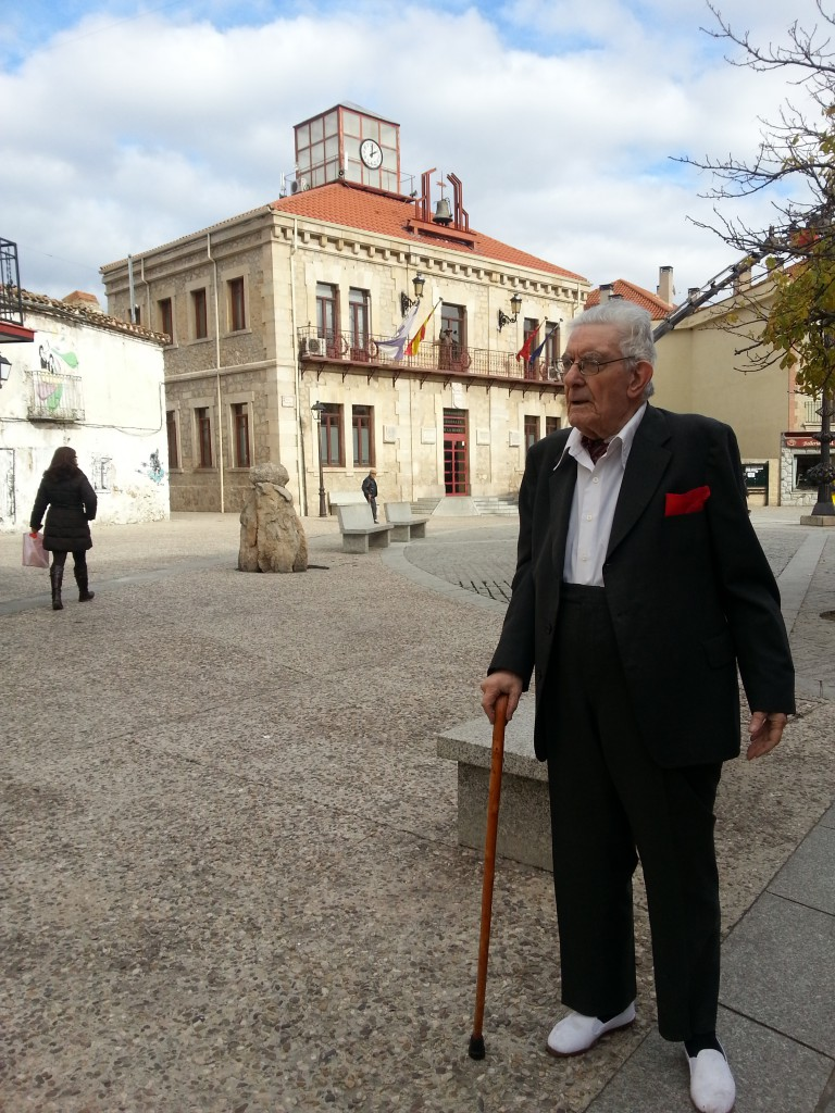 Celso Collazo en Plaza Guadalix