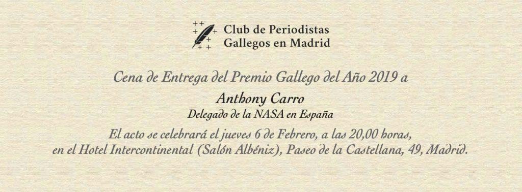 Gallego del Año 2019