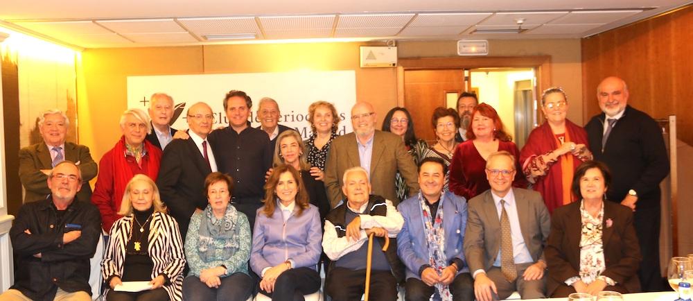 Periodstas Gallegos con Domingo Villar